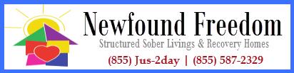 Newfound Freedom Sober Living Homes in Pennsylvania Logo